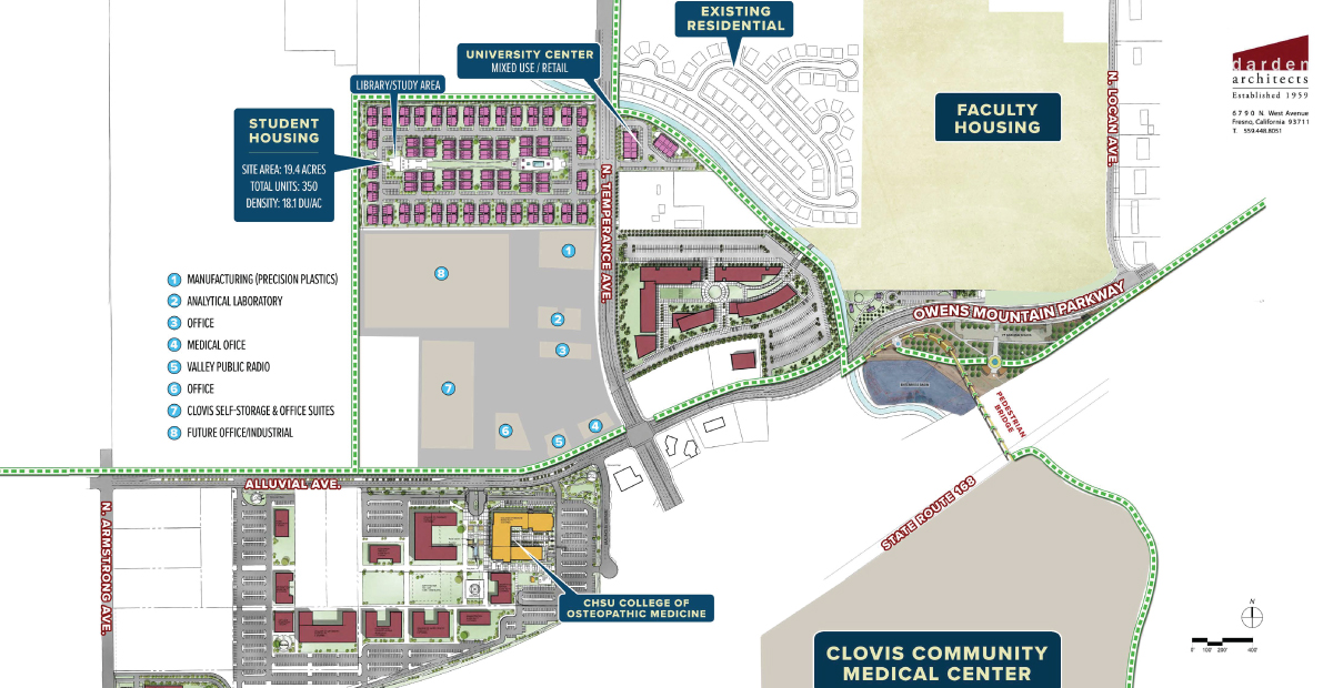 CHSU Receives Green Light on Expansion Plans