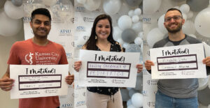 Visiting Medical Students Celebrate Residency Matches