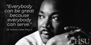 Campus Closed for Martin Luther King Jr. Day